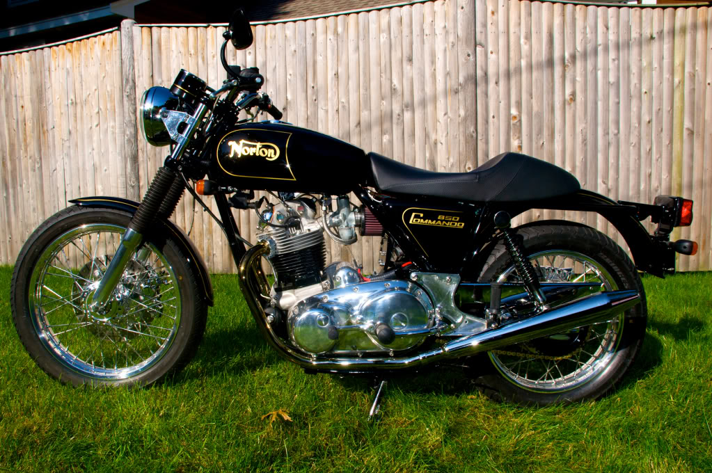 1 - Norton Commando 850 restored by Rocky Point Cycle.