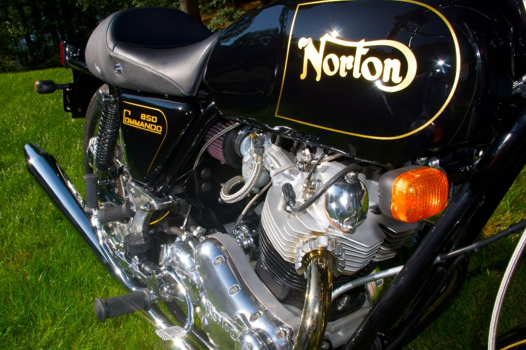3 - Norton Commando 850 restored by Rocky Point Cycle.