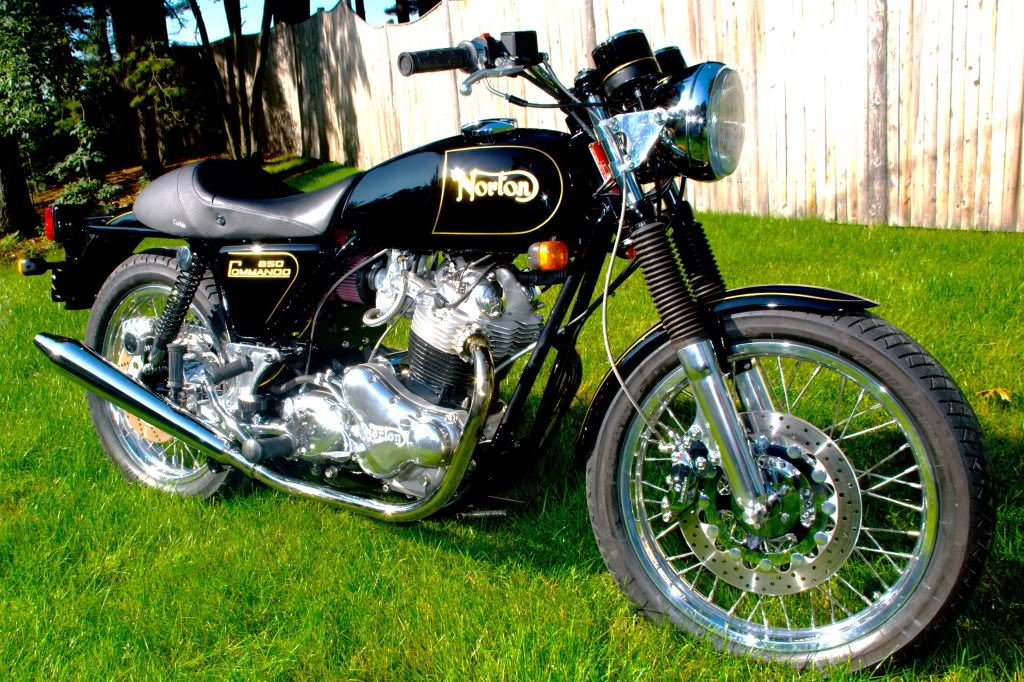 4 - Norton Commando 850 restored by Rocky Point Cycle.